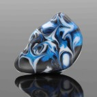 Black-White-Saphire Blue